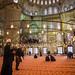 Fieis muçulmanos na mesquita
