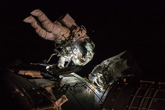 NASA astronauts Shane Kimbrough and Peggy Whitson Spacewalk (NASA's Marshall Space Flight Center) Tags: nasa nasas marshall space flight center international station spacewalk