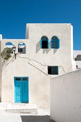El Kef - Tunisia (Mashhour Halawani) Tags: kef elkef tunisia tunis travel architecture blue white windows door walls