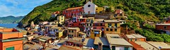 the view (Rex Montalban Photography) Tags: rexmontalbanphotography cinqueterre italy vernazza liguria stitchedpanorama