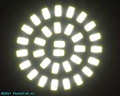 A SMD LED lamp. (PhotoTJH) Tags: phototjh phototjhnl smd led leds lamp licht light bright fel