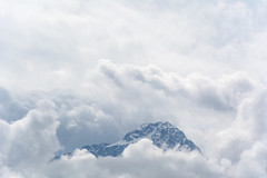 La cima del paradiso (Davide Bon) Tags: mountain clouds spring peak vsco vscofilm friuli fvg ontheroad