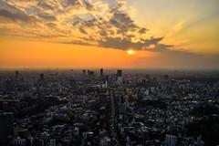 Tokyo - Mori Tower - 02 (coopertje) Tags: japan tokyo tokio architecture moritower roppongi tokyotower evening sunset