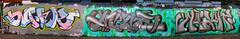 Leake Street Joiner (cocabeenslinky) Tags: streetart graffiti south east waterloo leake street se1 tunnel london city capital england united kingdom uk art artist artiste graff urban photos panasonic lumix dmcg6 ©cocabeenslinky letters writing writers spray paint can april 2017 joiner rip amuk free haos