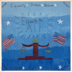 Beall Elementary School, Rockville, MD (International Fiber Collaborative, Inc.) Tags: thedreamrocket internationalfibercollaborative saturnvrocket space nasa astronaut conservation aliens twintowers health family diversity glitter christmas newyork nova art environment clean trees water trash planting green people cancer group equality paint flag elementary school home humans agriculture mountain save leader unitedstatesofamerica facebook felt kentucky washington olympic peace presidentobama stars community global kids express explore discover war animal abuse racism religious intolerance