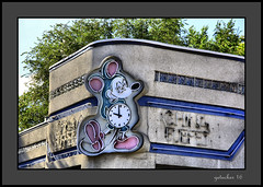 Time of the Mouse at China Buffet (the Gallopping Geezer '4.5' million + views....) Tags: sign signs signage business store storefront smalltown michigan mi mitten backroads backroad canon 5d3 geezer 2016 clock mouse time