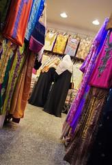 Rows of Color (michael.veltman) Tags: doha qatar shop fabric colors