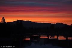 "Sunrise (jimgspokane) Tags: sunrises spokanewashingtonstate spokaneriver nightshots ""nikonflickraward"""