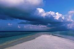 Morning light (sylviafurrer) Tags: malediven meer morgenlicht wolken clouds licht sea maldives morninglight