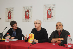 Julián Vadillo, Xavier Navarro* i Rafa Arnal 25/04/17