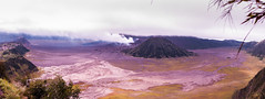 Mount Bromo from above (Vol'tordu) Tags: mountbromo java indonesia south asia southasia discover volcano placeofinterest lunarlandscape desertland cemorolawang nationalpark