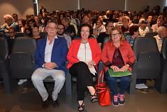 Juan Hidalgo, Gracia Fernández y Paqui Laborda. (almeriainformacion) Tags: cine documental la fosa borrada del sur memoria histórica almería museo de