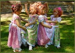 Tanz in den Mai ... (Kindergartenkinder) Tags: kindergartenkinder park annette himstedt dolls grugapark essen gruga frühling ostern gruppenfoto personen annemoni milina tivi sanrike