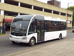 KX14HFZ (47604) Tags: kx14hfz meridian bus white route optare service 31 kingsheath northampton
