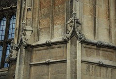 Parliament gargoyles (Dun.can) Tags: palaceofwestminster housesofparliament parliament gargoyles greenman architecture victoriatower gothic westminster