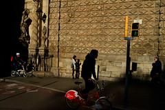 Bicycle Race (Sergi_Escribano) Tags: documentaryphotography streetphoto sergiescribanophotography streetphotography catalonia barcelonastreetphotoraphy barcelona streetsofbarcelona church architecture ramblas way city light walking urban people traffic sergiescribano