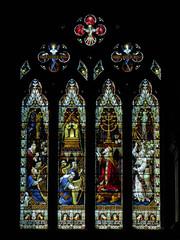King Solomon Window, Worcester Cathedral (Aidan McRae Thomson) Tags: worcester cathedral worcestershire stainedglass window victorian hardman johnhardmanpowell