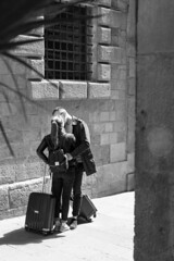 The Streets, Sant Jordi's Day, Barcelona (Geraint Rowland Photography) Tags: kiss kissing love couple loving valentines thestreets santjordisday barcelona embrace cuddle tender voyeur streetphotography catalonia spain kissinginthestreet geraintrowlandphotography wwwgeraintrowlandcouk canon 50mm primelensstreetphotographybygeraintrowland visitbarcelona