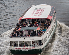 Circle Line Brooklyn Sightseeing Boat on the East River, New York City (jag9889) Tags: 2017 20170427 aerialview boat brooklyn circleline eastriver kingscounty ny nyc newyork newyorkcity outdoor people river rooseveltisland ship tourist usa unitedstates unitedstatesofamerica vessel water waterway jag9889 us blackwellsisland island manhattan welfareisland