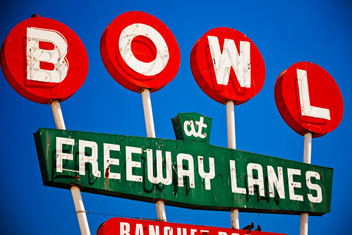 Freeway Lanes Bowl