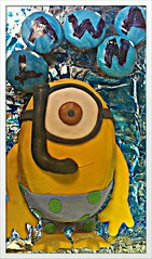 Snorkeling Minion Cake (Cakes By Marie Waadt) Tags: birthday me yellow cake dessert cupcakes snorkel cream bubbles butter fondant despicable minion flickrandroidapp:filter=none