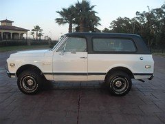 71K5Blazer_2k_large (Monaco Luxury) Tags: auto bar 1971 ps pb stereo chevy 350 roll custom blazer resto k5 pristine frameoff