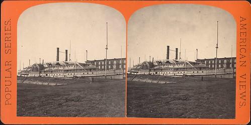 bristol riverboat steamboat paddlesteamer tekniskamuseet stereoimage stereobild hjulångare ångfartyg thenationalmuseumofscienceandtechnology