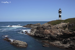 Faro nuevo de Isla Pancha (angelbg) Tags: costa marina faro galicia lugo ribadeo cantbrico lamarina marcantbrico islapancha marialucense photographyforrecreation