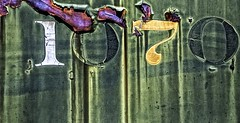 The Old 1070 (rickhanger) Tags: railroad train rust rusty rick numbers boxcar hanger 1070 rickhangerphotography