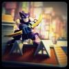 Hawkeye (R D L) Tags: super hero hawkeye superheroes squad marvel