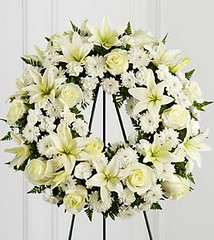 FTD Treasured Tribute Wreath (dobdeals.com) Tags: flowers wreaths eventsupplies