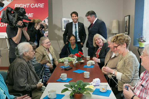 Premier Wynne's Press Conference - 140 Merton - April 2013 (6)