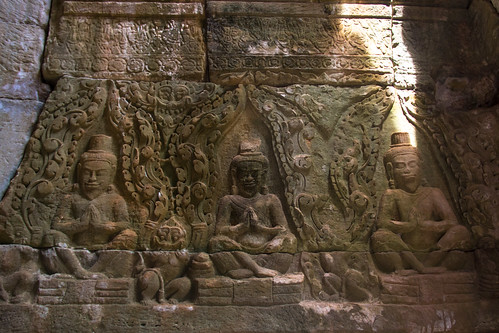 巴戎寺壁刻 | Carving at Bayon Temple