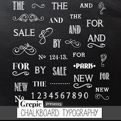 "Chalkboard clipart typography & words: Digital ""CHALKBOARD TYPOGRAPHY"" pack with words, wedding typography, flourishes, letters, numbers (workyourart) Tags: wedding art typography chalk words letters images clip numbers clipart chalkboard typo"