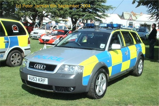 car tdi day estate norfolk police audi gala a6 quattro krf allroad au53