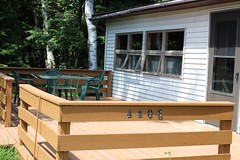 Deck with Table and Chairs