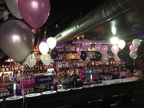 Tafeldecoratie 4ballonnen Verjaardag Bar Tops Spijkenisse