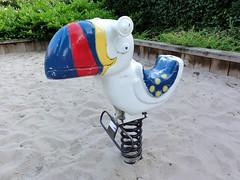Vintage Toucan Spring rider - by GameTime (Studio Momoki) Tags: old bird animal playground vintage toucan spring ride gametime teetertotter playgroundequipment springrider