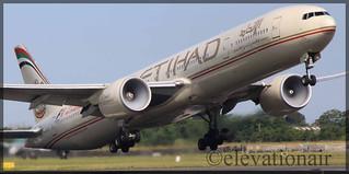 A6-ETC Boeing 777-3FXER Etihad Airways