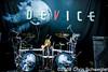 Device @ Gigantour 2013, DTE Energy Music Theatre, Clarkston, MI - 07-08-13