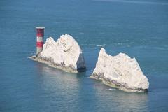 Isle of Wight July 2013 (julianinlondon) Tags: needles isle lighhouse wight