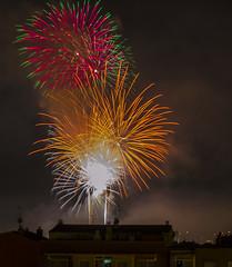 fireworksjose luis_2 (jlmontes) Tags: colors fireworks colores fuegosartificiales nikond3100 jlmontes fiestamayorpalleja2013