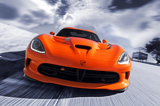 time attack dodge viper ta srt 2014