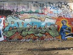 oak 23 yard feb, 2008 028 - Jurne (Matthew Isles) Tags: sanfrancisco california streetart graffiti oakland bayarea sfbayarea oaktown 66thyards