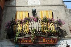 Balcony (Wosog) Tags: italy lake garda malcesine veneto 2013