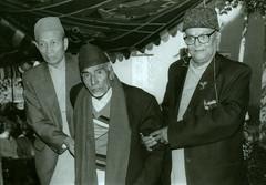 Satya Mohan, Ali Miya and DharmaRaj Thapa