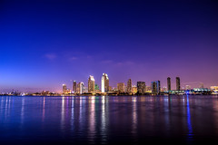 San Diego Americas Finest City (peasap) Tags: california blue sunset summer sky skyline night evening nig