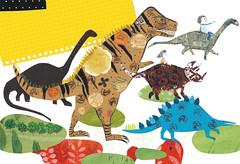Dinosaurs Illustrations (Children's Book) (jangyoung_) Tags: family boy baby house rabbit art monster kids illustration buildings painting children mom book education friend dad ibook friendship dino dinosaur classroom drawing space room daughter dream son pizza vehicle spaceship unicorn ebook childrensbook imaginary illust picturebook illustrate kidsbook kindle