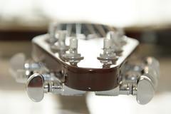 Bokeh Special (Edwin van Tilburg - Oss - Netherlands) Tags: red bokeh guitar queen chrome brianmay electricguitar gitaar headstock tuners solidbody a350 redspecial