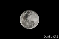 Moon (dancps) Tags: moon night lens full 200mm nikond5100